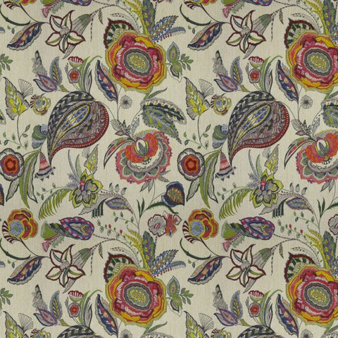 Masquerade Tutti Colori Fabric by Jim Dickens at Decor Rooms