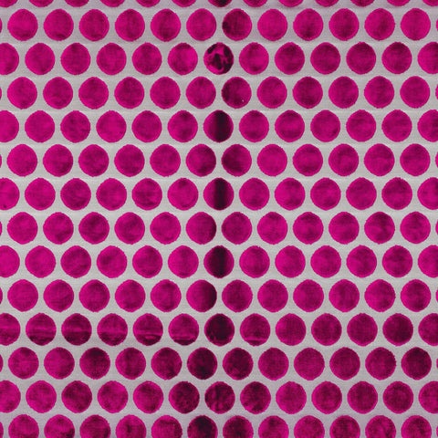 Casamance Artista - Rose Fuschia 6921120 Fabric - Decor Rooms