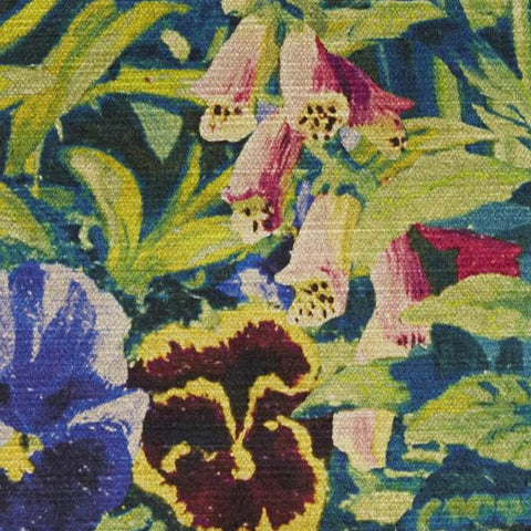 Gail's Garden Fabric in Dawn by Liberty London at Decor Rooms