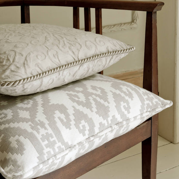Clarke & Clarke Malika - Ivory Fabrics - Decor Rooms - 2