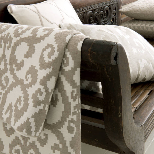 Clarke & Clarke Malika - Sand Fabrics - Decor Rooms - 2
