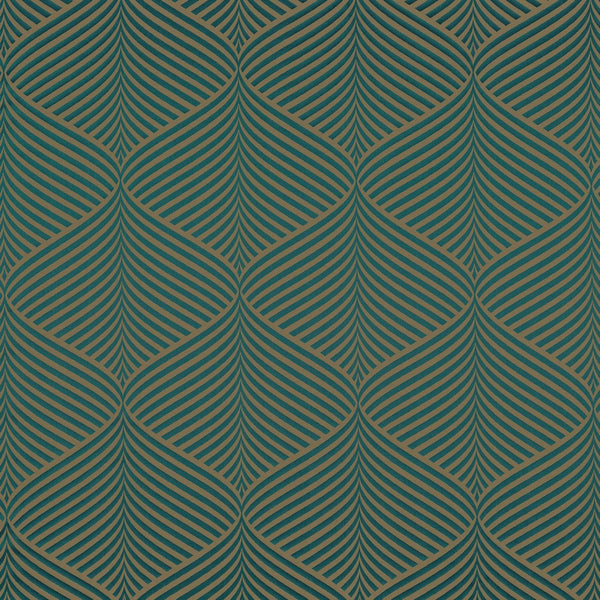 Casamance Phalguna - Vert 35920617 Fabrics - Decor Rooms - 1
