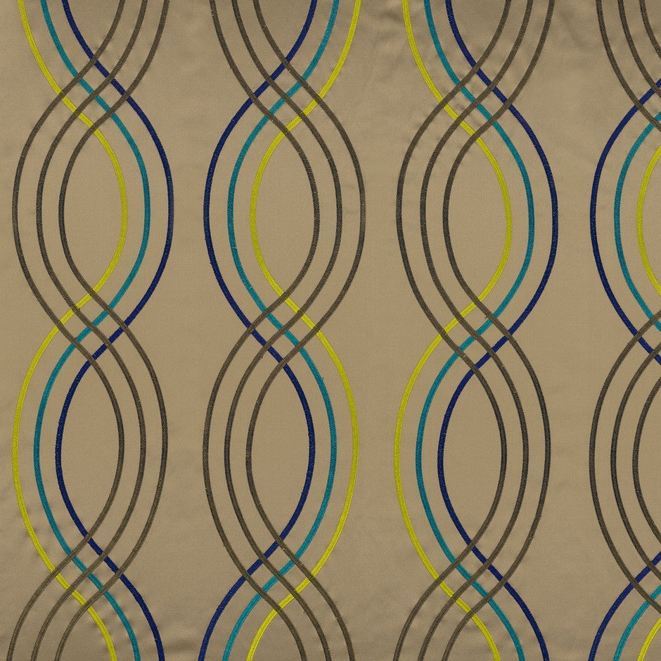 Casamance Santara - Vert Fabric 35910415 Fabrics - Decor Rooms - 1