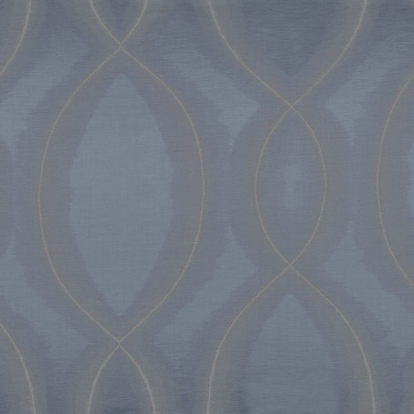 Casamance Chisame - Bleu Fabric  35740287 Fabrics - Decor Rooms
