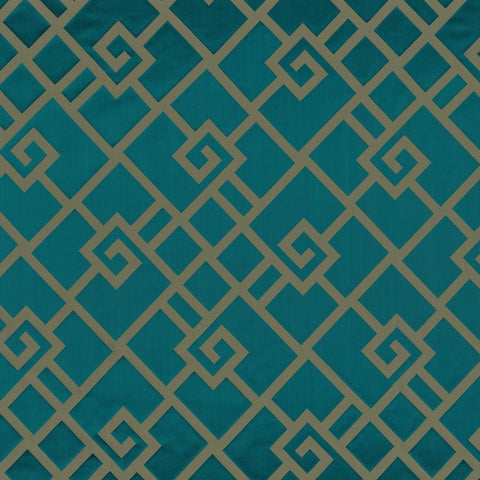 Casamance Holika - Vert Fabric  35930134 Fabrics - Decor Rooms - 1