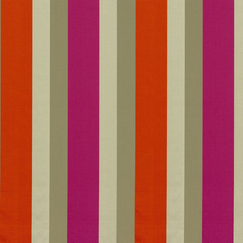 Casamance Orissa - Rouge Fabric 35940372 Fabrics - Decor Rooms - 1