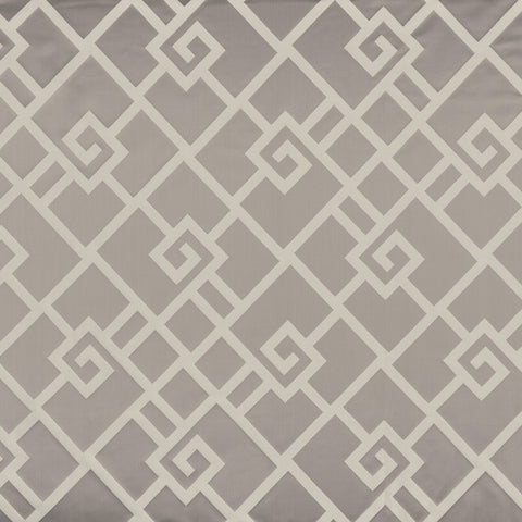 Casamance Holika - Gris Fabric 35930134 Fabrics - Decor Rooms - 1