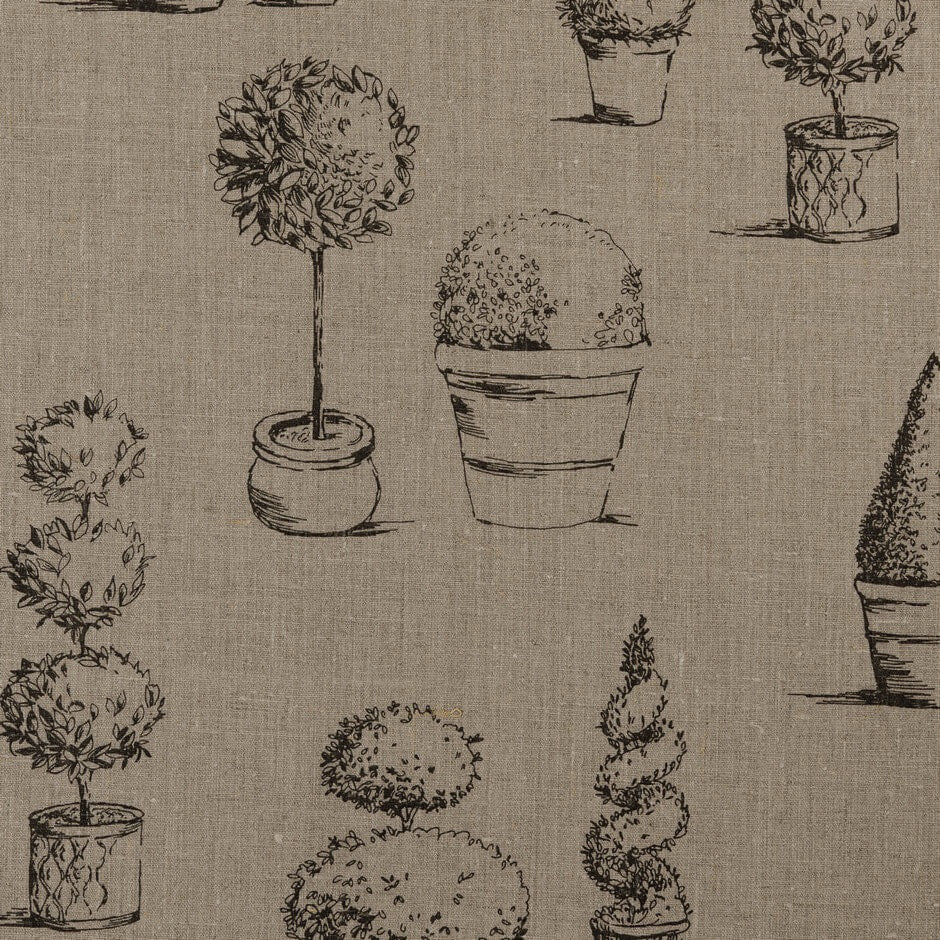 Clarke & Clarke Topiary - Linen Fabrics - Decor Rooms