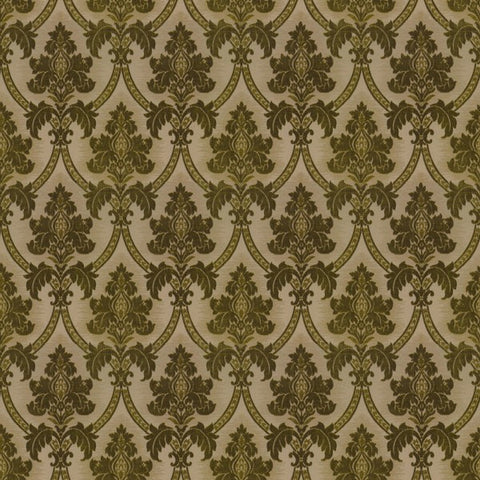 Canterbury Fern Green Fabric by Jim Dickens at Decor Rooms