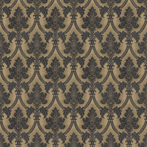 Canterbury Foxglove Blue Fabric by Jim Dickens at Decor Rooms