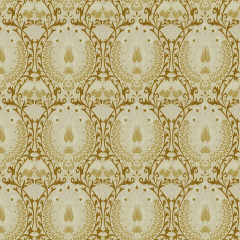 Isfahan Corn Silk Fabric by Jim Dickens at Decor Rooms