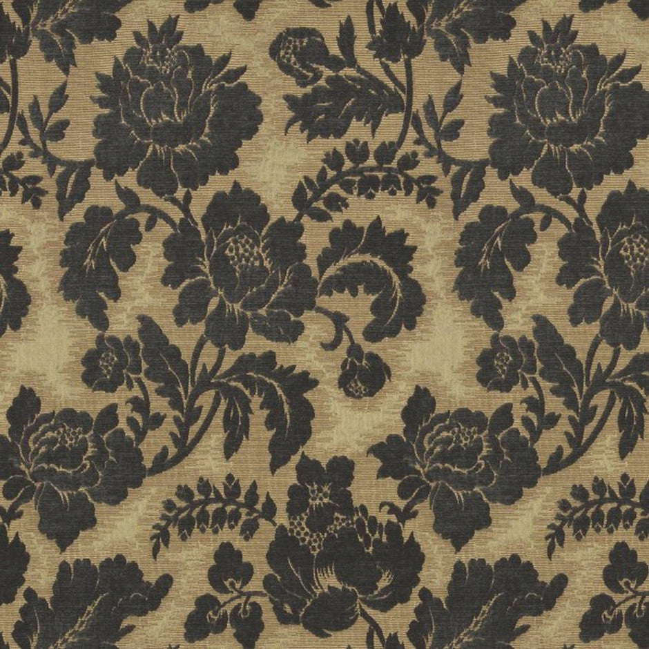 Suffolk Foxglove Blue Fabric by Jim Dickens at Decor Rooms