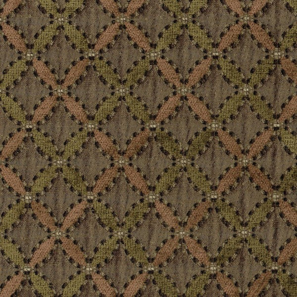 Tabriz Damson Fabric by Jim Dickens at Decor Rooms