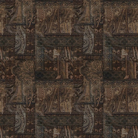 Kashmir Mulberry Fabric by Jim Dickens | Decor Rooms