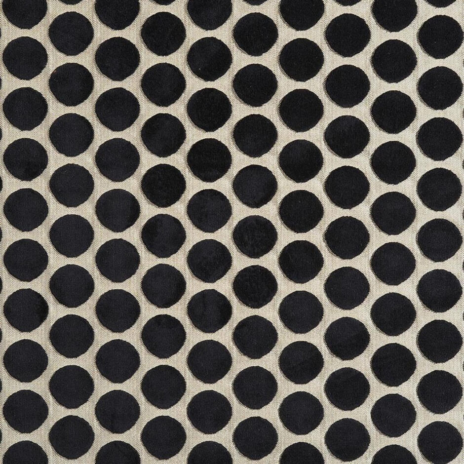 Casamance Artista - Light & Black Fabric 6920685 Fabrics - Decor Rooms