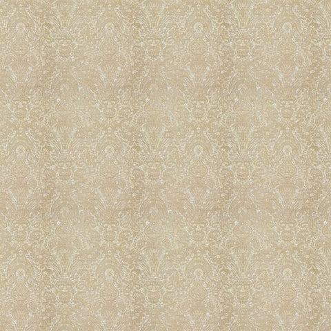 Manhattan White Gold Fabric by Jim Dickens | Decor Rooms