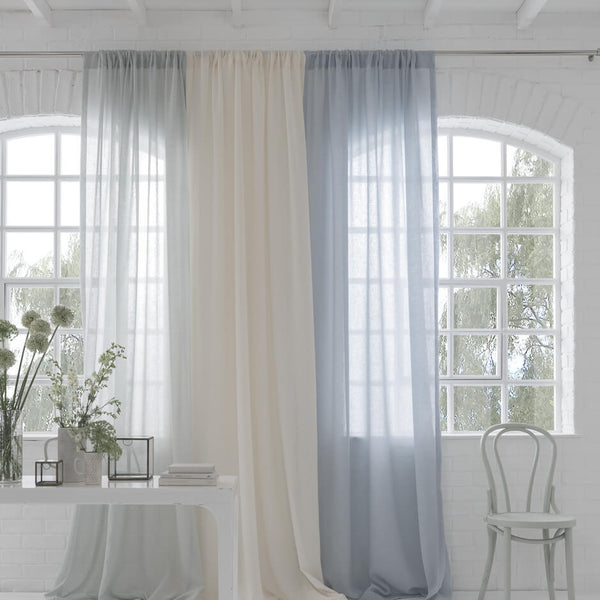 Midiori Sky Fabric by Clarke & Clarke - Decor Rooms