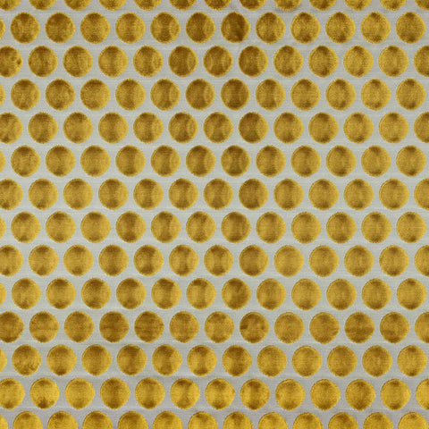 Casamance Artista - Jaune Moutarde Fabric 6920916 - Decor Rooms