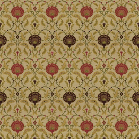 Ottoman Cranberry fabric by Jim Dickens at Decor Rooms