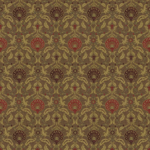 Ottoman Wild Berry fabric by Jim Dickens at Decor Rooms