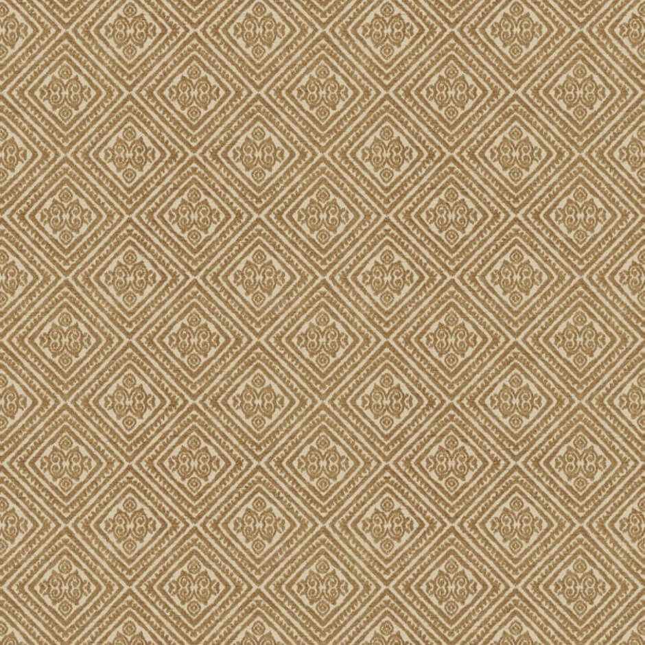 Tala Nutmeg Fabric by Jim Dickens | Decor Rooms