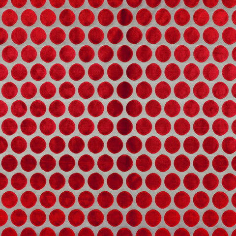 Casamance Artista - Rouge Pigment Fabric 6921281 Fabrics - Decor Rooms
