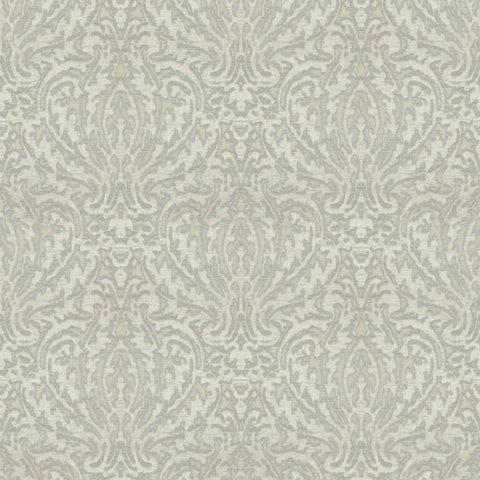 Samara Silver Fabric by Jim Dickens at Decor Rooms