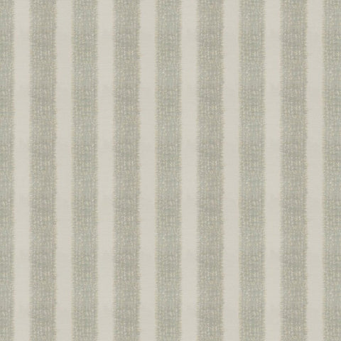 Samara Stripe Silver Fabric by Jim Dickens at Decor Rooms