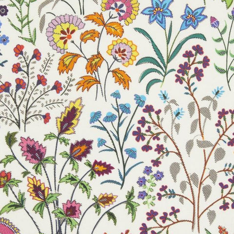 Shepherdly Flowers Fabric - Exotic by Liberty at Decor Rooms