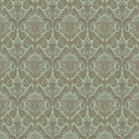 Hamilton Duck Egg Fabric by Jim Dickens at Decor Rooms