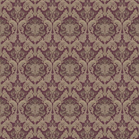Hamilton Mulberry Fabric by Jim Dickens at Decor Rooms