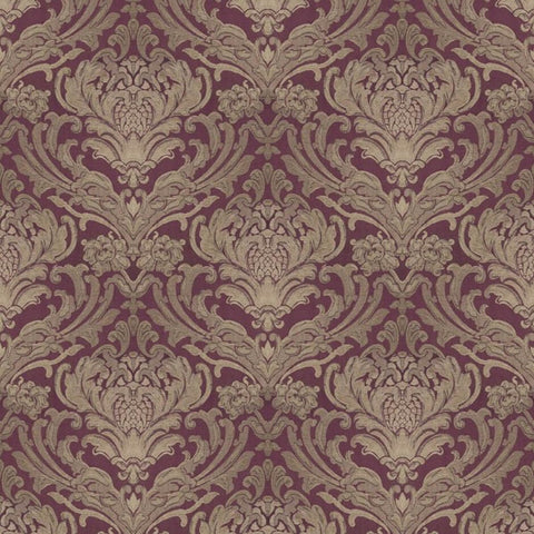 Sheridan Mulberry Fabric by Jim Dickens at Decor Rooms