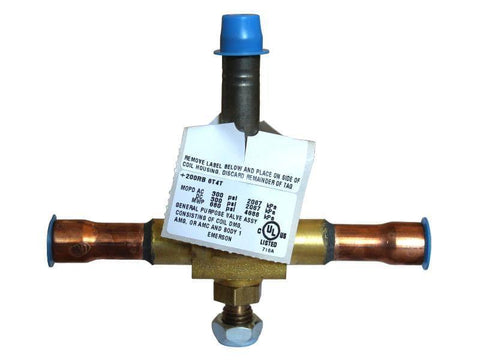 Alco Emerson 200RB 6T4T Scotsman 11-0507-23 Refrigerant Solenoid Valve - Use It Again Parts
