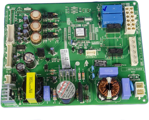 LG Refrigerator Control Board EBR67348009 - Use It Again Parts