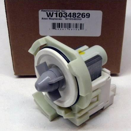 Dishwasher Drain Pump W10348269 - Born Again Appliance Parts