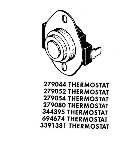 Dryer Thermistor 694674 WP694674 - Use It Again Appliance Parts