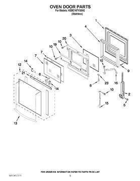 Oven Door Insulation 8300797 - Use It Again Appliance Parts