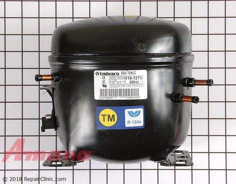 Refrigerator Compressor 12001872 - Use It Again Appliance Parts
