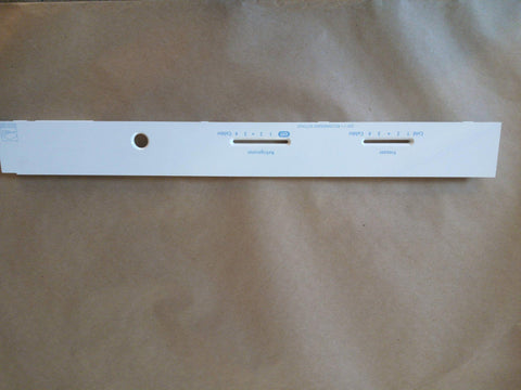 Refrigerator Control Faceplate 2175514 - Use It Again Appliance Parts