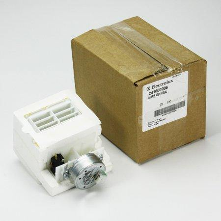 New - Refrigerator Damper Assembly 241600906