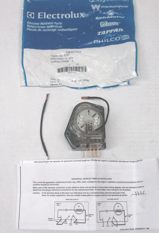 Refrigerator Defrost Timer 5303917633 - Use It Again Appliance Parts
