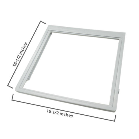 New - Refrigerator Drawer Glass Cover 240350902