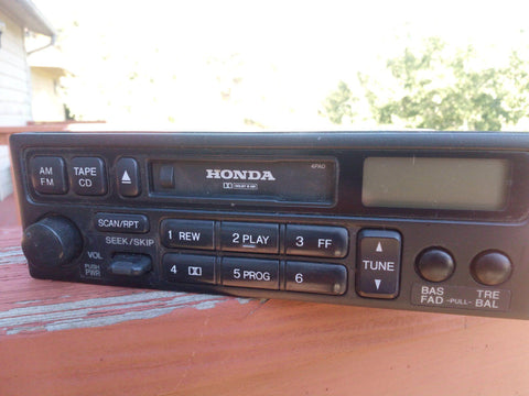 Honda Stereo 39100-S82-A030-M1 - Use It Again Appliance Parts