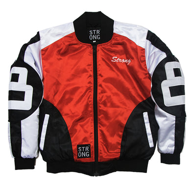 Strong 8 Baller Jackets (Red/Black)