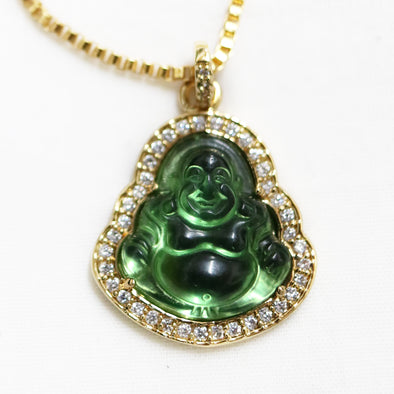 Golden Gilt Buddha Link Chain
