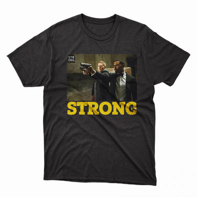 "Strong ""Power"" Tee (Black)"