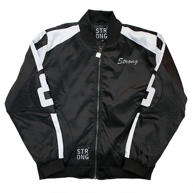 Strong 8 Baller Jacket (Black/White)