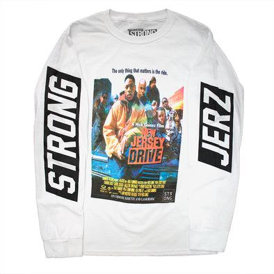 "Strong ""New Jersey Drive"" Tee (White)"