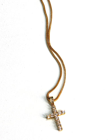 Golden Gilt Cross