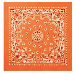 Mass Bandanna (Orange)